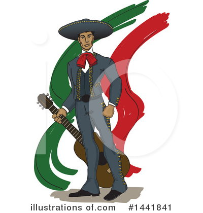 Entertainer Clipart #1441841 by David Rey