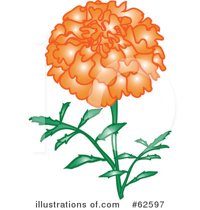 Flowers Clipart #62597 by Pams Clipart