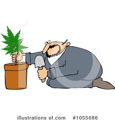 Marijuana Clipart #1055086 by djart