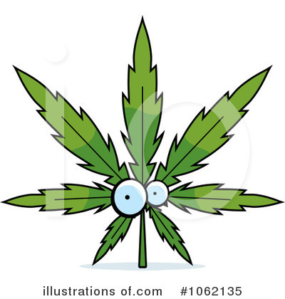 Marijuana Clipart #1062135 by Cory Thoman