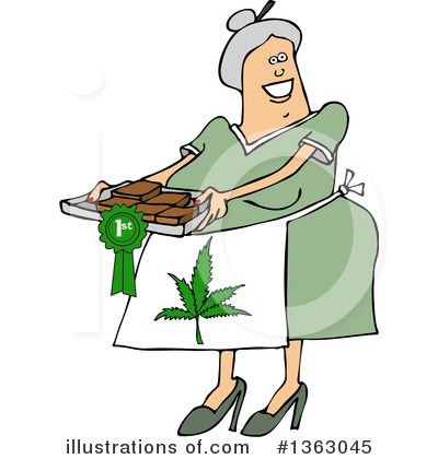 Marijuana Clipart #1363045 by djart