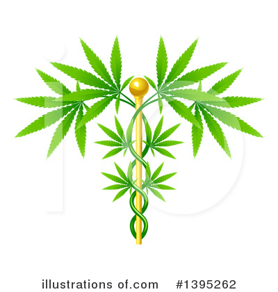 Royalty-Free (RF) Marijuana Clipart Illustration by AtStockIllustration - Stock Sample #1395262