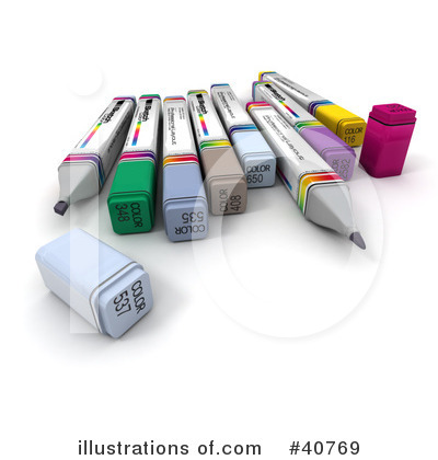 Office Supplies Clipart #40769 by Frank Boston