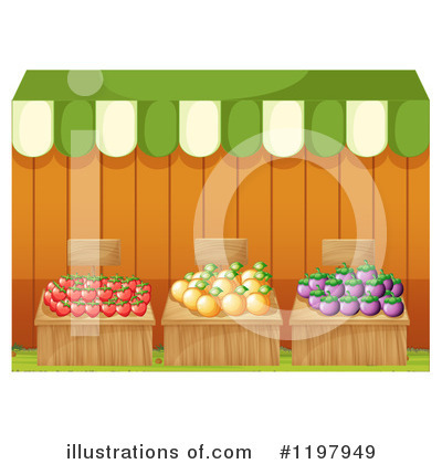 Fruit Clipart #1197949 by Graphics RF