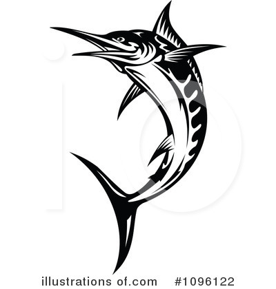 Marlin Clipart #1096122 by Vector Tradition SM