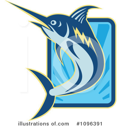 Marlin Clipart #1096391 by patrimonio
