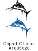 Royalty-Free (RF) Marlin Clipart Illustration #1096828
