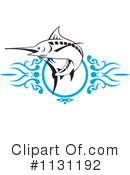 Royalty-Free (RF) Marlin Clipart Illustration #1131192