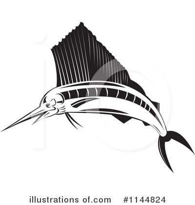 Marlin Clipart #1144824 by patrimonio