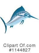Royalty-Free (RF) Marlin Clipart Illustration #1144827