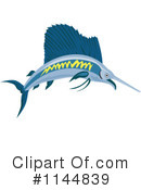 Royalty-Free (RF) Marlin Clipart Illustration #1144839