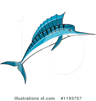 Marlin Clipart #1193757 by Vector Tradition SM