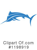 Royalty-Free (RF) Marlin Clipart Illustration #1198919
