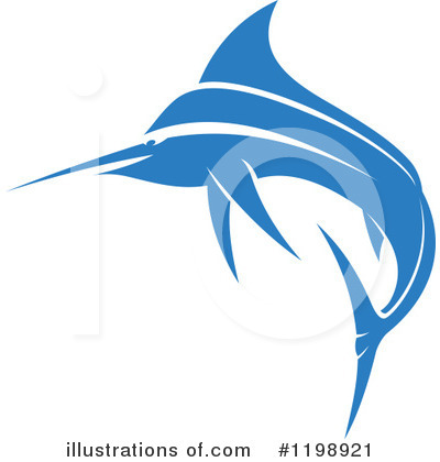 Marlin Clipart #1198921 by Vector Tradition SM