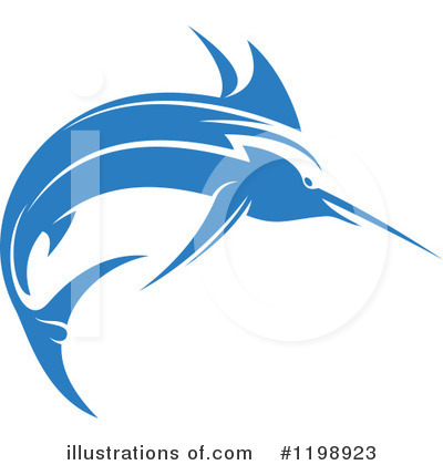 Marlin Clipart #1198923 by Vector Tradition SM