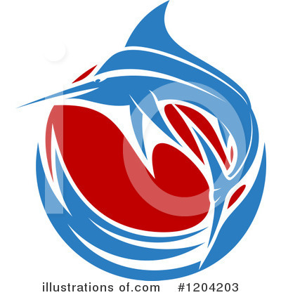 Marlin Clipart #1204203 by Vector Tradition SM