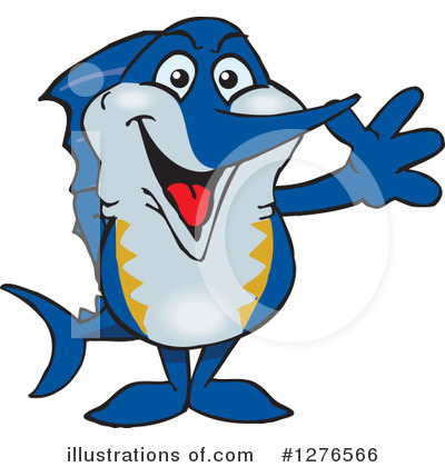 Fish Clipart #1276566 by Dennis Holmes Designs