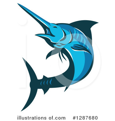 Marlin Clipart #1287680 by patrimonio