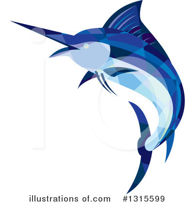 Marlin Clipart #1315599 by patrimonio