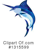 Royalty-Free (RF) Marlin Clipart Illustration #1315599