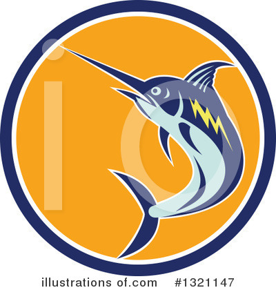 Marlin Clipart #1321147 by patrimonio