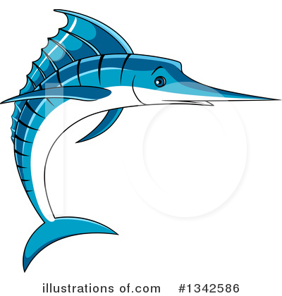 Marlin Clipart #1342586 by Vector Tradition SM