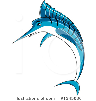 Marlin Clipart #1345036 by Vector Tradition SM
