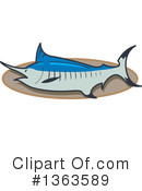 Royalty-Free (RF) Marlin Clipart Illustration #1363589