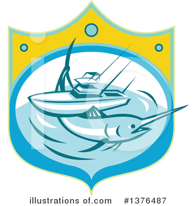 Marlin Clipart #1376487 by patrimonio