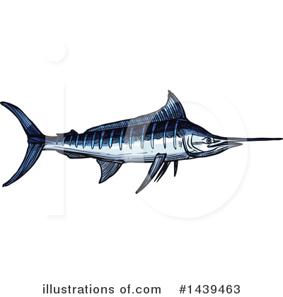 Marlin Clipart #1439463 by Vector Tradition SM
