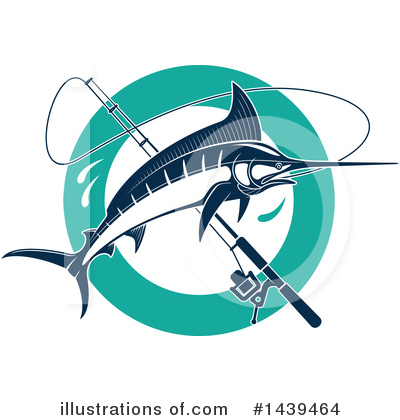 Marlin Clipart #1439464 by Vector Tradition SM