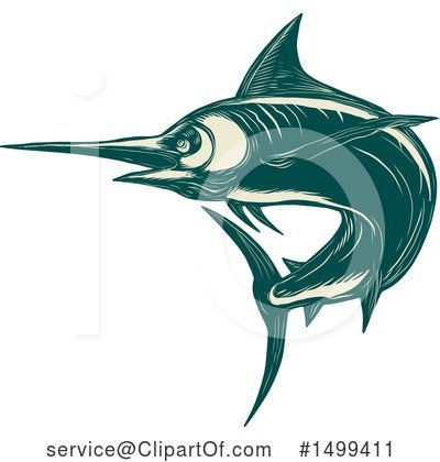 Marlin Clipart #1499411 by patrimonio