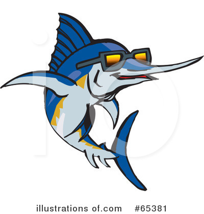 Fish Clipart #65381 by Dennis Holmes Designs