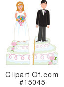 Royalty-Free (RF) Marriage Clipart Illustration #15045