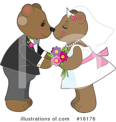 Teddy Bear Clipart #16176 by Maria Bell