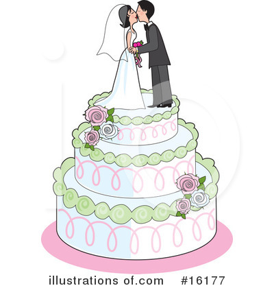 Royalty-Free (RF) Marriage Clipart Illustration by Maria Bell - Stock Sample #16177