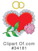 Royalty-Free (RF) Marriage Clipart Illustration #34181