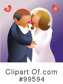Royalty-Free (RF) marriage Clipart Illustration #99594