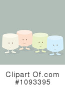 Royalty-Free (RF) Marshmallow Clipart Illustration #1093395