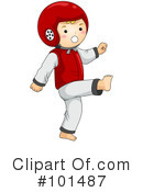 Martial Arts Clipart #101487 by BNP Design Studio
