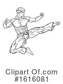 Martial Arts Clipart #1616081 by AtStockIllustration