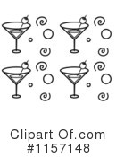 Royalty-Free (RF) Martini Clipart Illustration #1157148