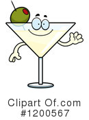 Royalty-Free (RF) Martini Clipart Illustration #1200567