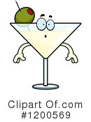 Royalty-Free (RF) Martini Clipart Illustration #1200569