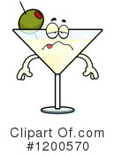 Royalty-Free (RF) Martini Clipart Illustration #1200570