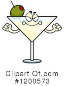 Royalty-Free (RF) Martini Clipart Illustration #1200573