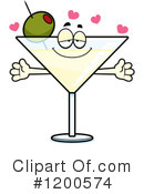 Royalty-Free (RF) Martini Clipart Illustration #1200574