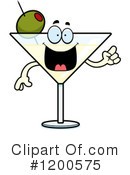 Royalty-Free (RF) Martini Clipart Illustration #1200575