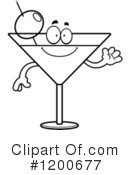 Royalty-Free (RF) Martini Clipart Illustration #1200677