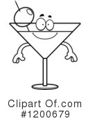 Royalty-Free (RF) Martini Clipart Illustration #1200679